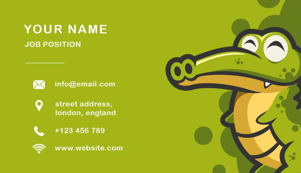 Boise Logo Design | Crocodile Development by Fourth Dimension Logo