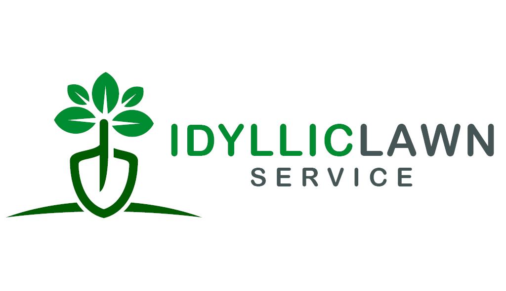 Idyllic Lawn Care by Fourth Dimension Logo | Boise Logo Design Services
