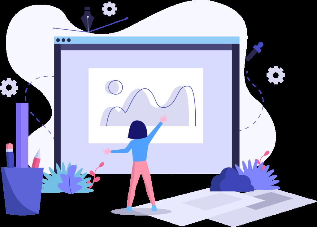 Dynamic-Website-Design by Fourth Dimension Logo