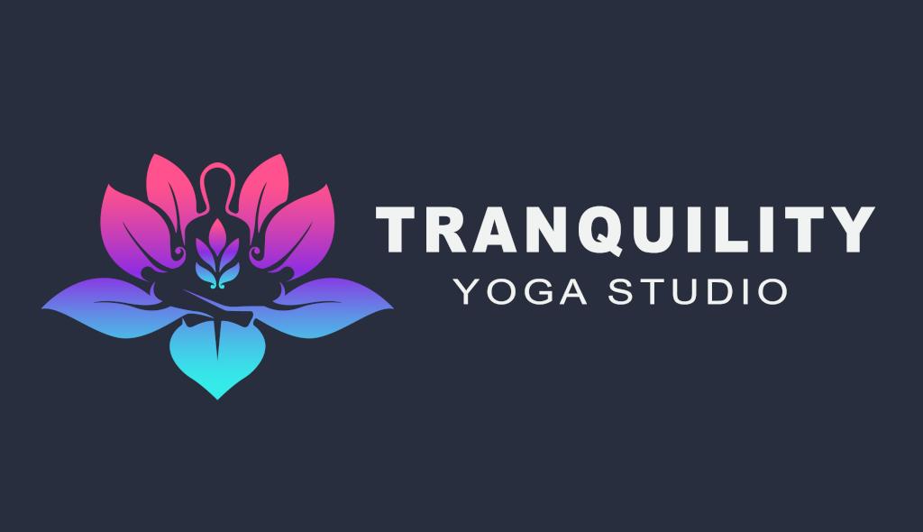 Logo Design for Tranquility Yoga Studio by Fourth Dimension Logo