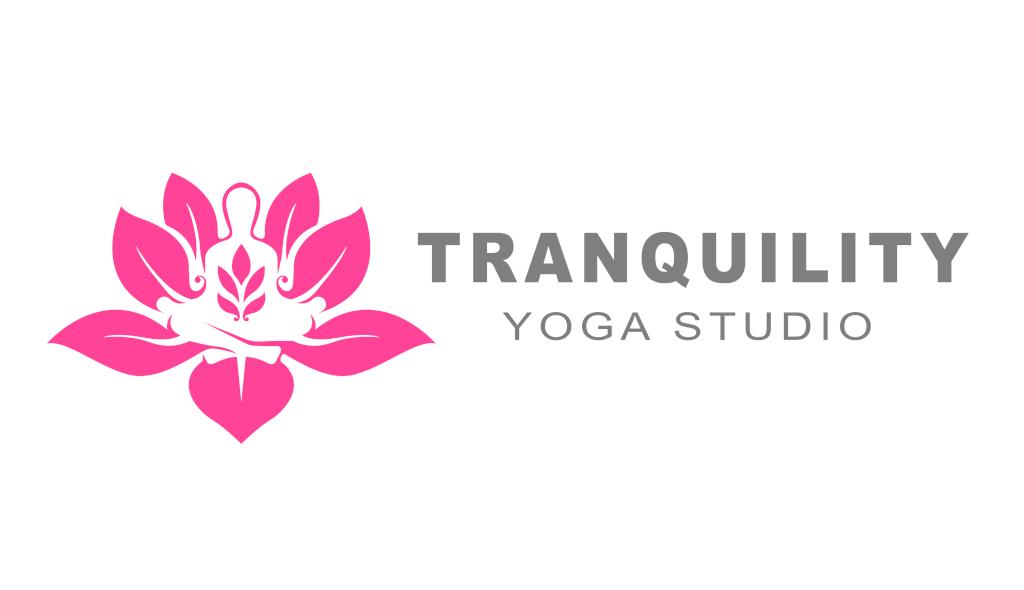 Fourth Dimension Logo | Design for Tranquility Yoga Studio