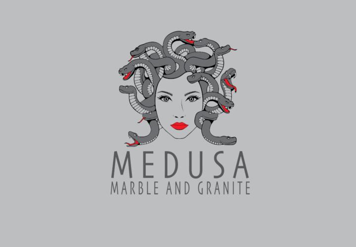 Medusa Logo by Fourth Dimension Logo