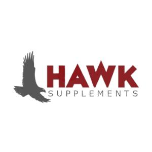 Boise Logo Design | HAWK SUPPLEMENTS | Fourth Dimension Logo