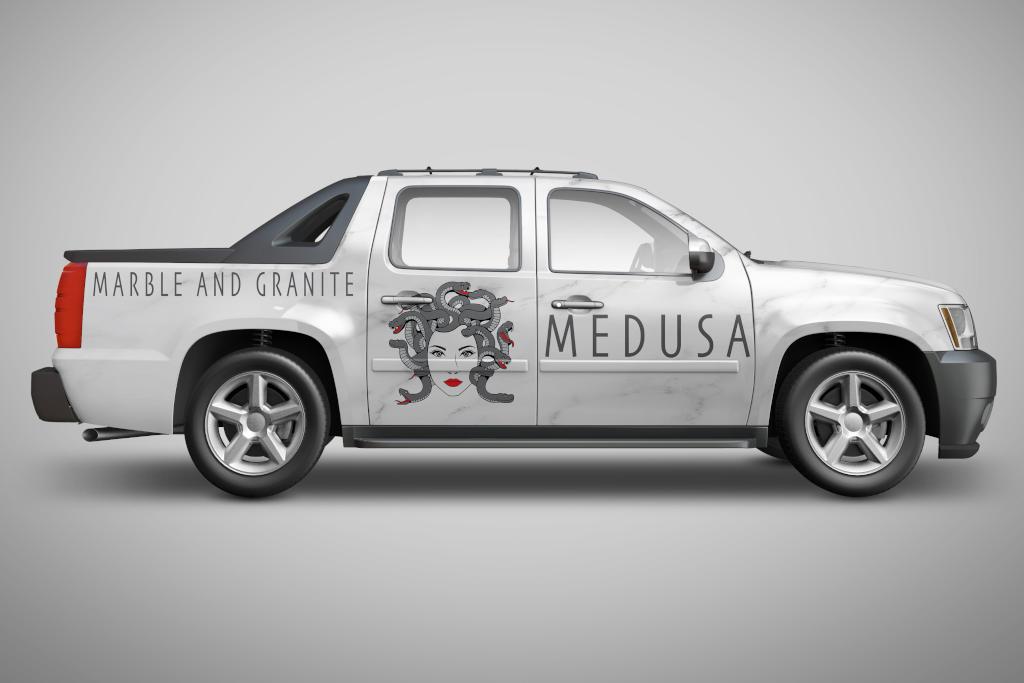 Medusa - Boise Logo Design by Fourth Dimension Logo