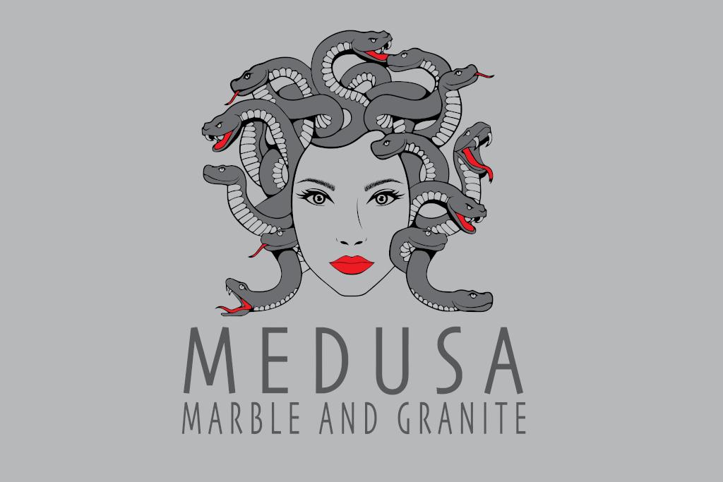 Medusa Logo | Fourth Dimension | Boise Logo Design