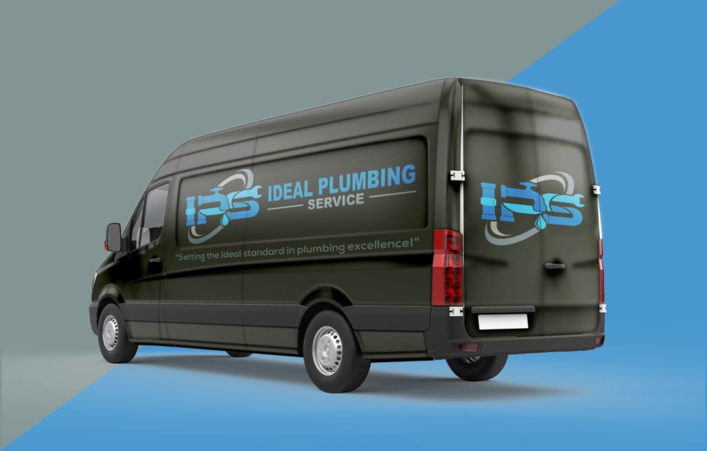 Ideal Plumbing Service Truck
